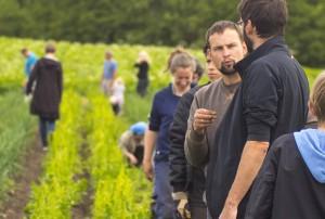 Fællesskab mellem kunde-bonde